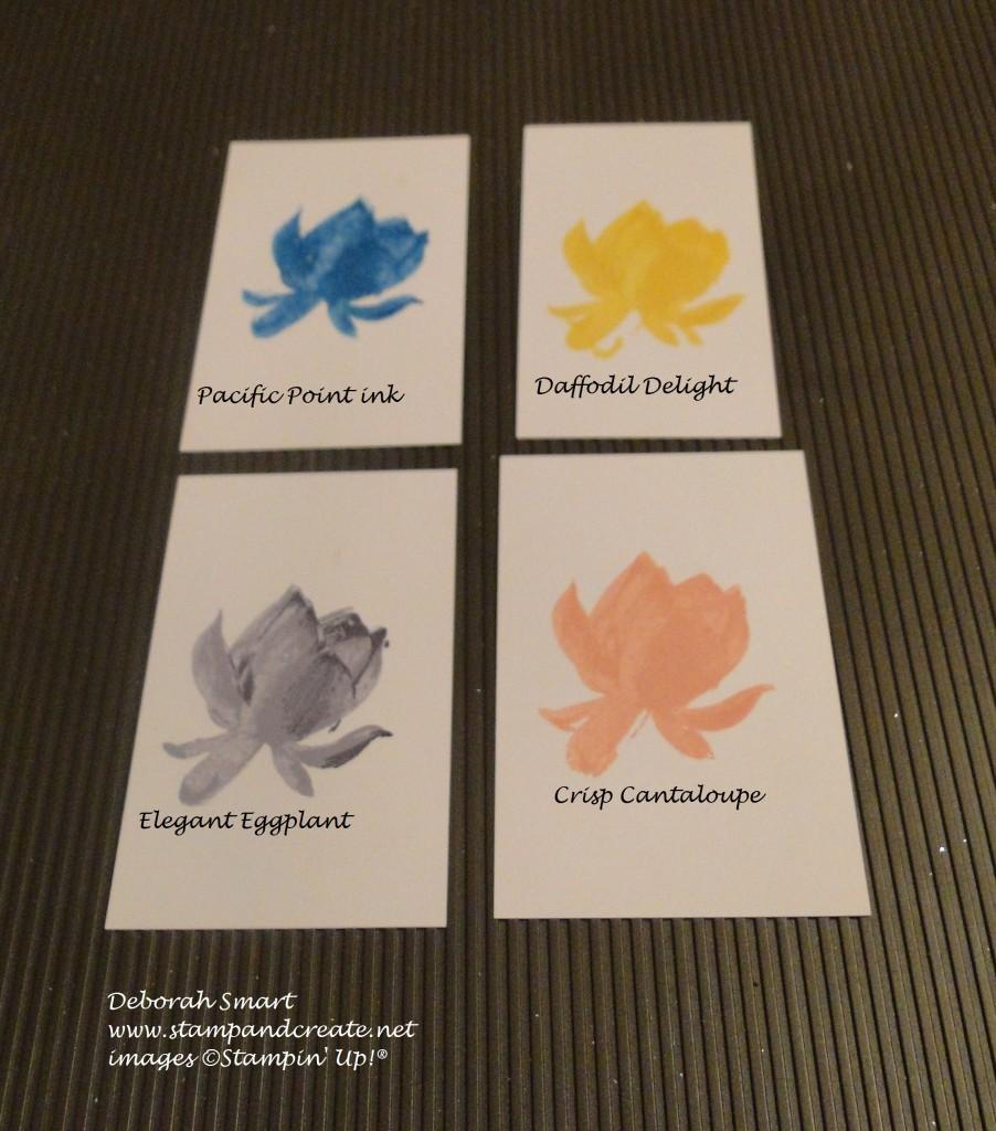 Lotus blossom single colour