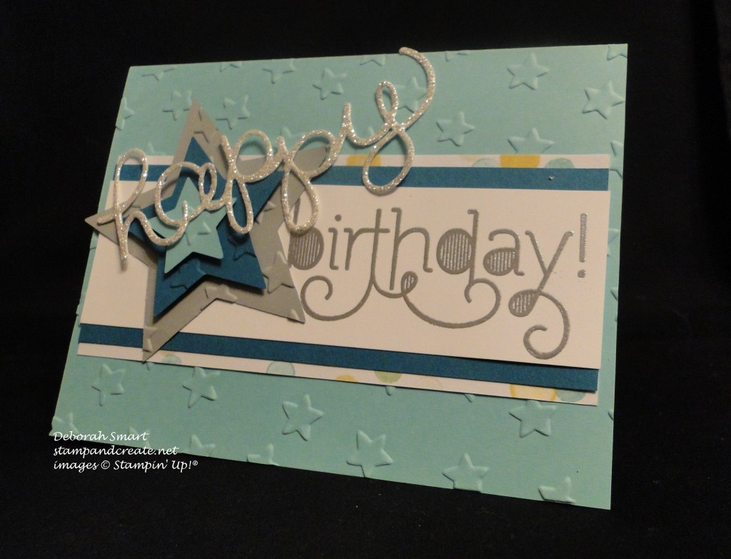 Tyler's b-day card front