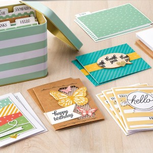 Tin of Cards Project Kit @ My Stampin' Place | Burnaby | British Columbia | Canada