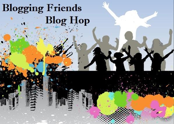 Blogging Friends blog hop header Icon