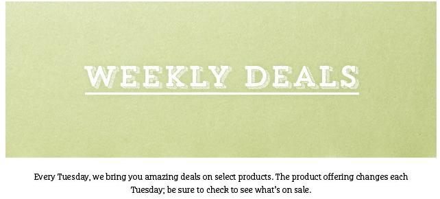 SU weekly deals header 1